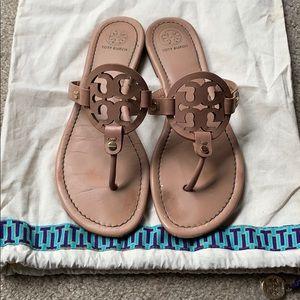 Tory Burch Nude Makeup Miller Sandals size 8.5